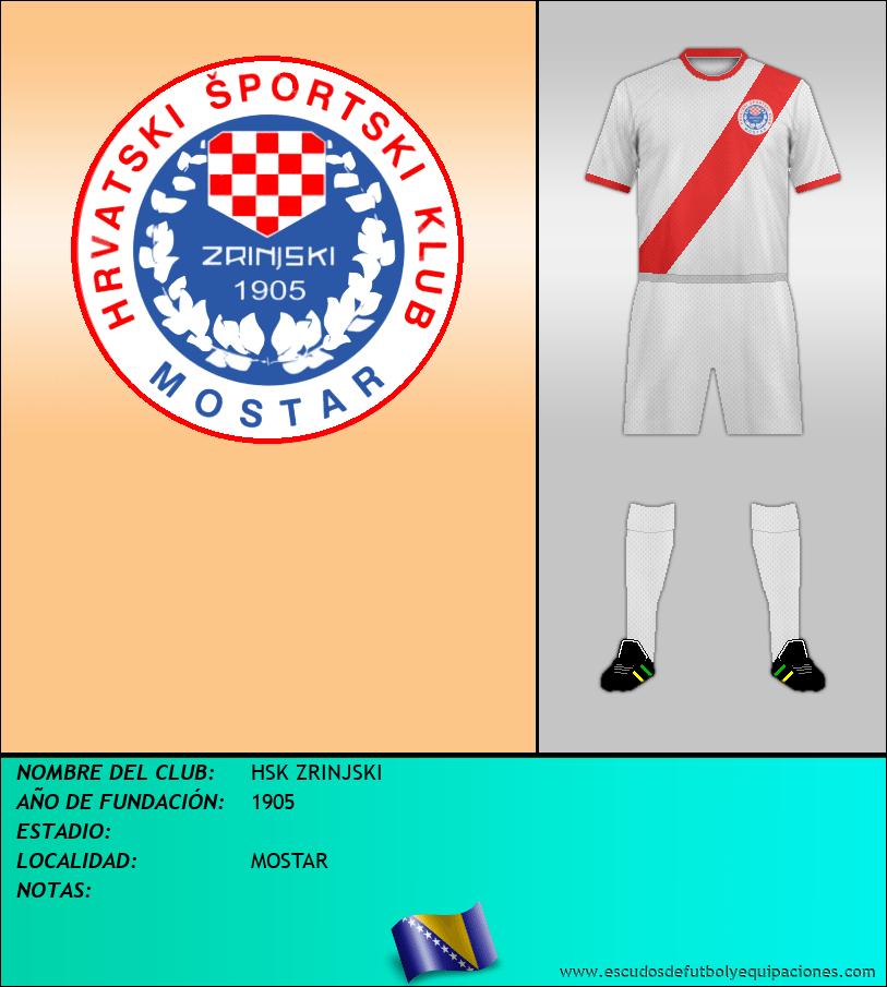 Escudo de HSK ZRINJSKI
