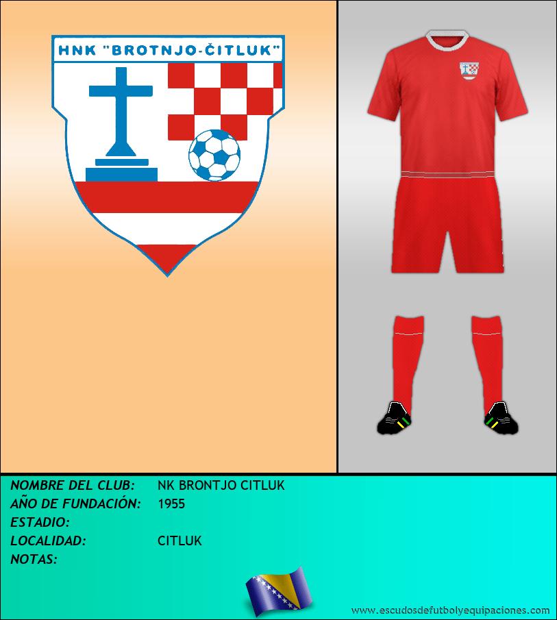 Escudo de NK BRONTJO CITLUK
