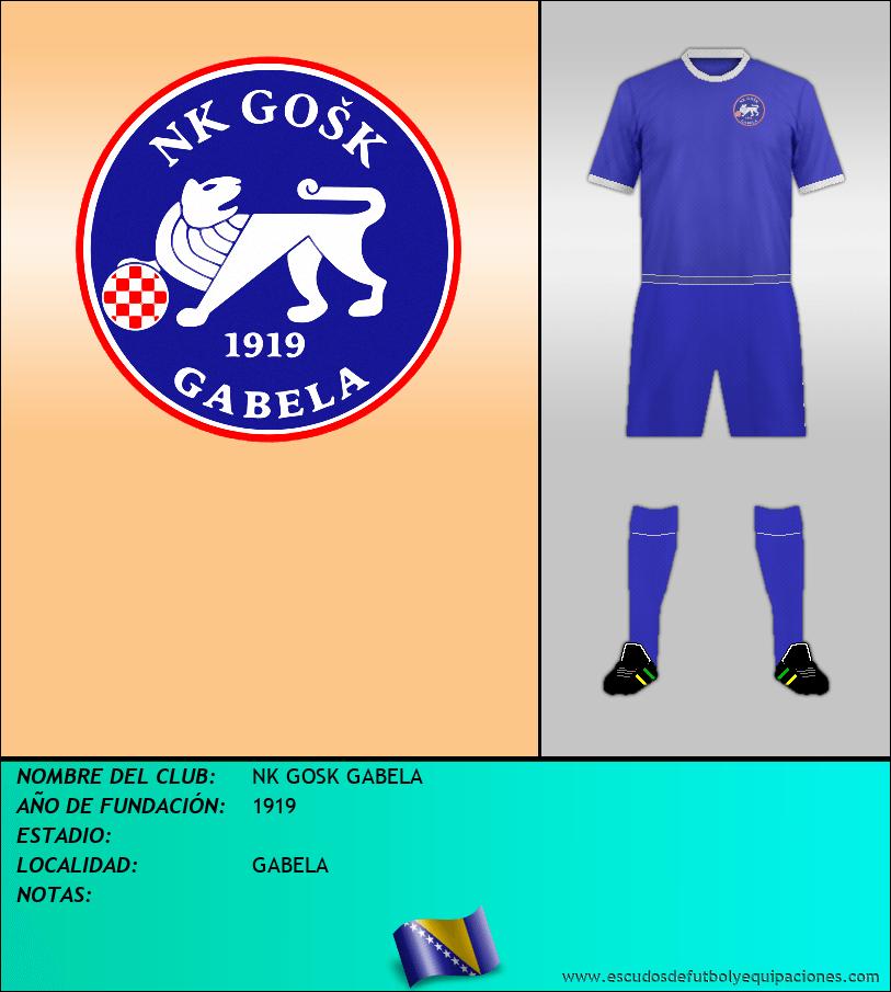 Escudo de NK GOSK GABELA