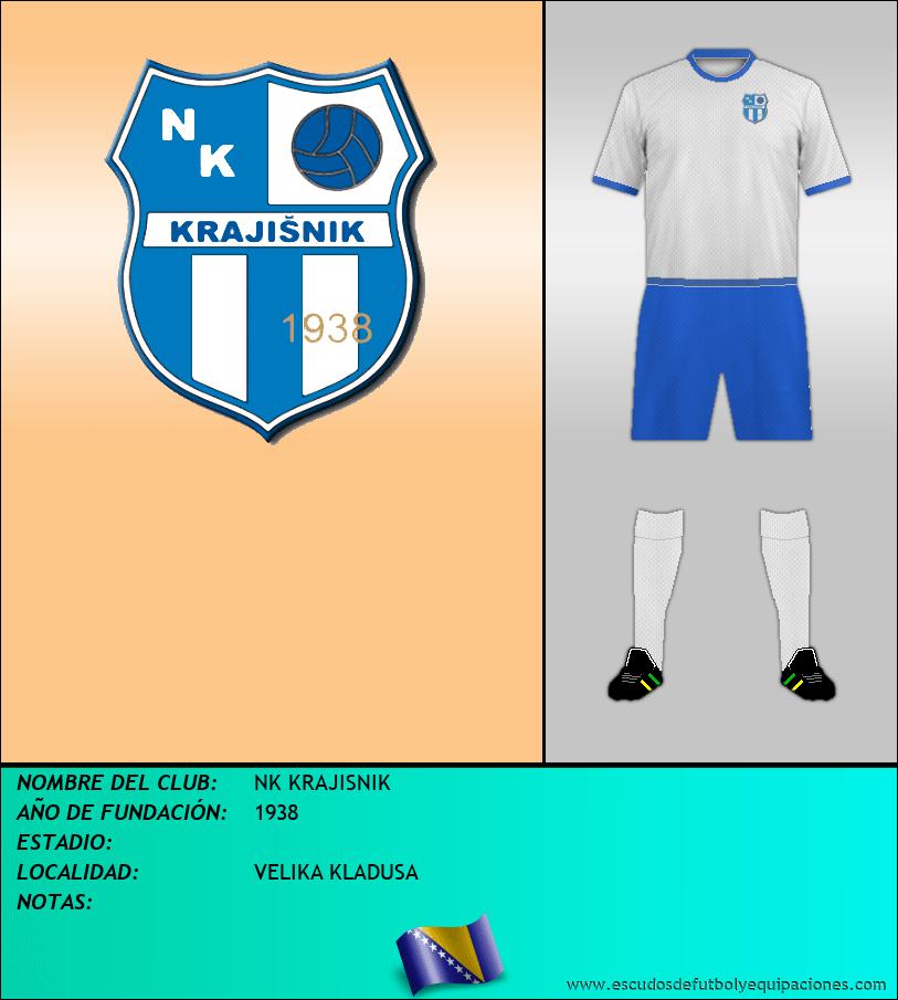 Escudo de NK KRAJISNIK