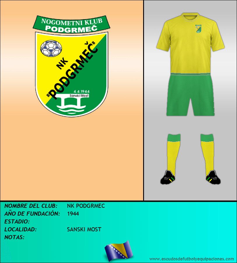 Escudo de NK PODGRMEC