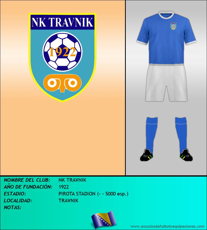 Escudo de NK TRAVNIK
