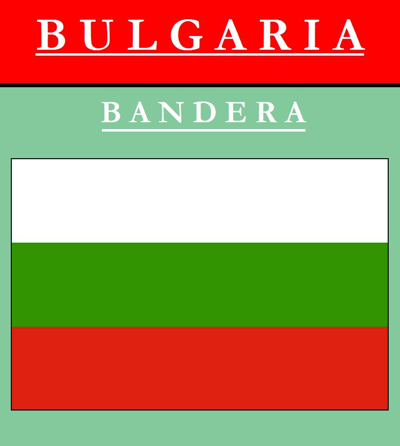 Escudo de BANDERA DE BULGARIA