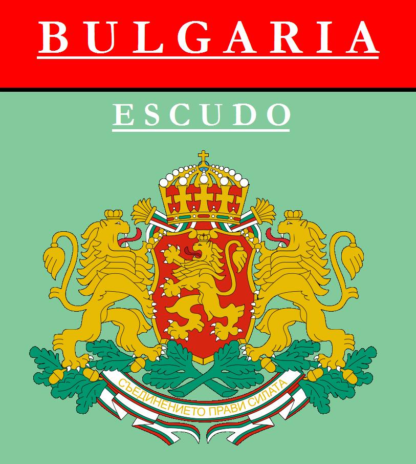 Escudo de ESCUDO DE BULGARIA