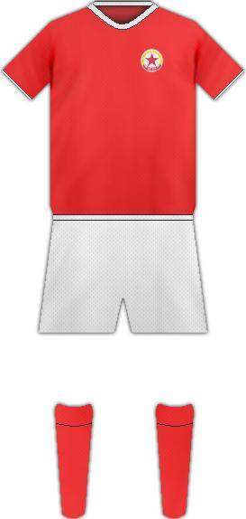 Equipación PFC CSKA