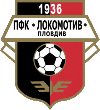 Escudo de PFK LOKOMOTIC DE PLOVDIV (BULGARIA)