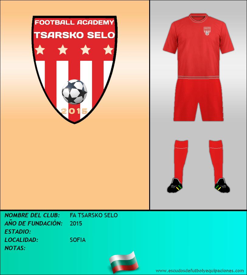 Escudo de FA TSARSKO SELO