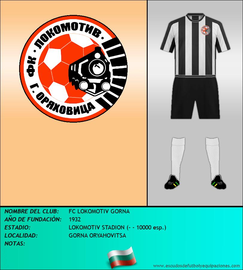 Escudo de FC LOKOMOTIV GORNA