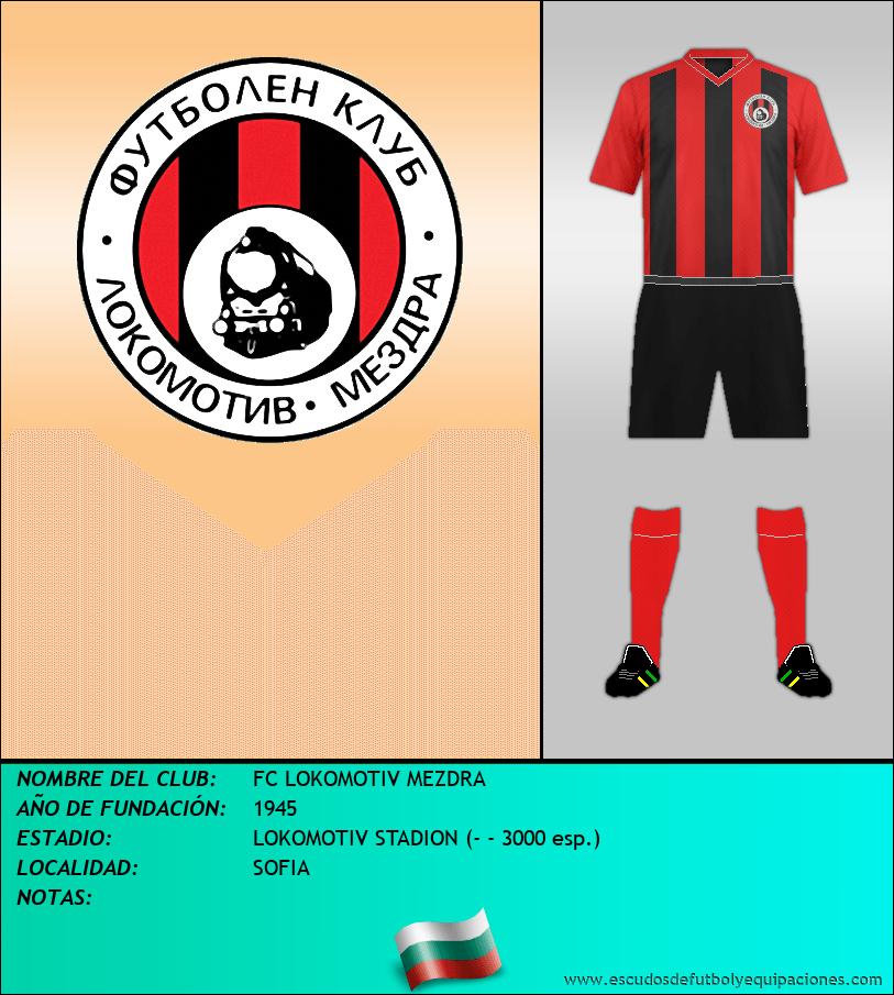 Escudo de FC LOKOMOTIV MEZDRA