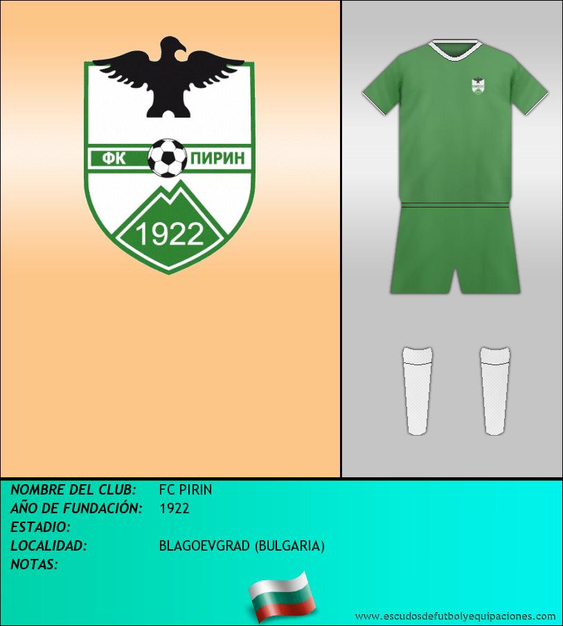 Escudo de FC PIRIN