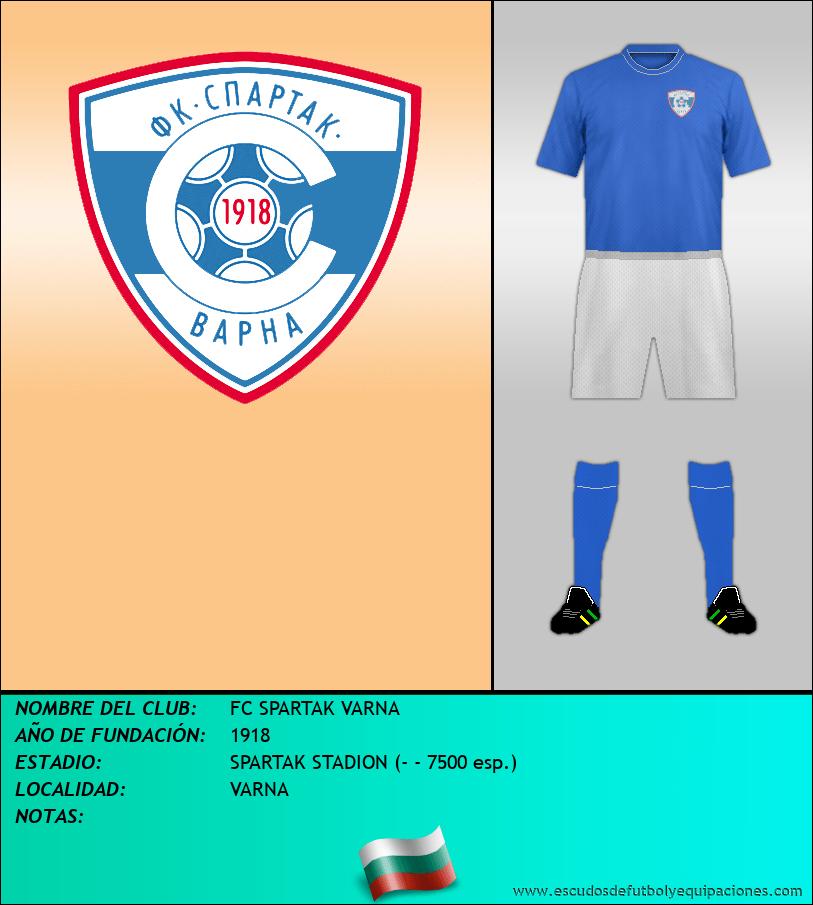 Escudo de FC SPARTAK VARNA
