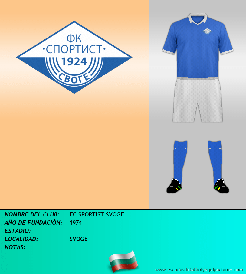 Escudo de FC SPORTIST SVOGE