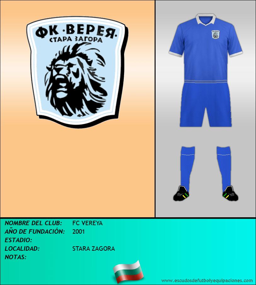 Escudo de FC VEREYA