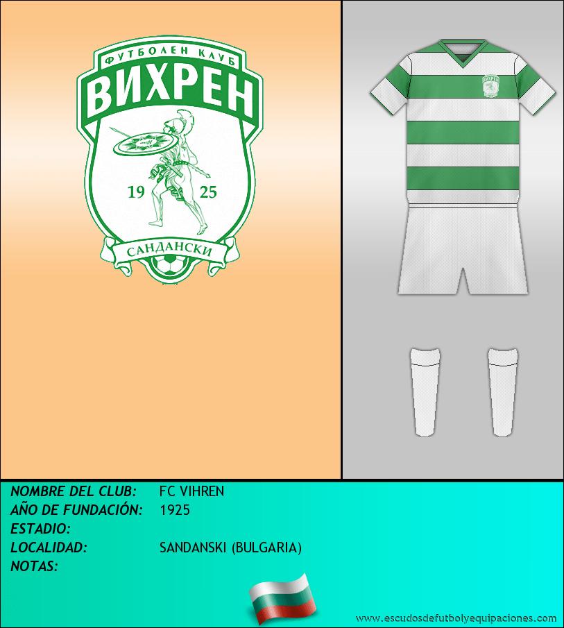Escudo de FC VIHREN
