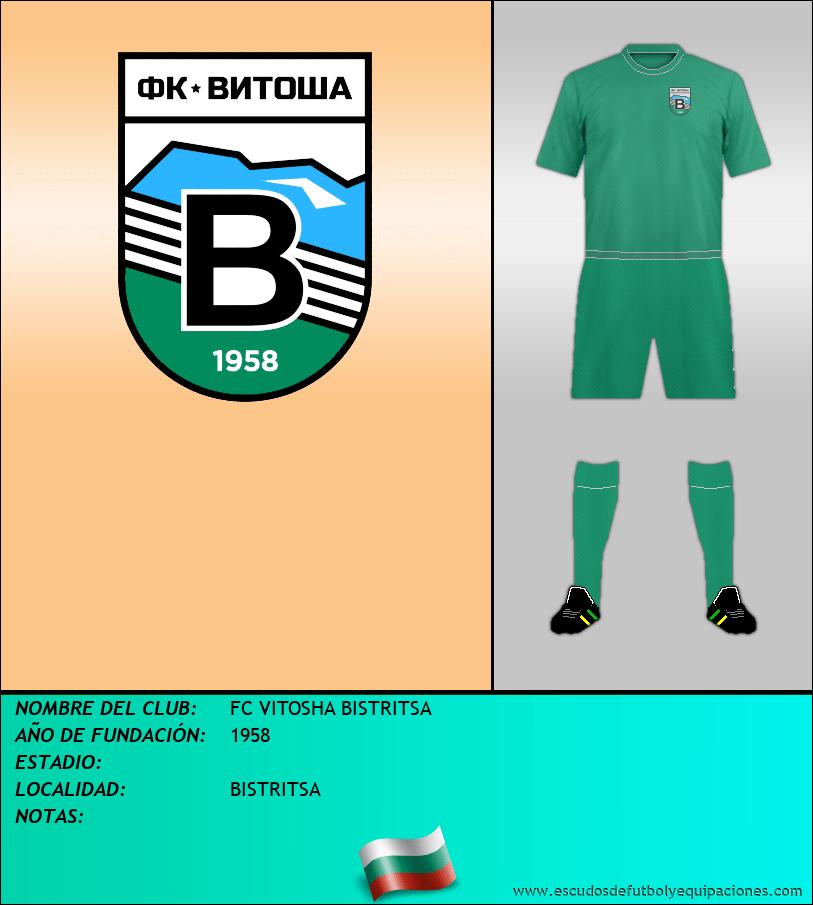Escudo de FC VITOSHA BISTRITSA