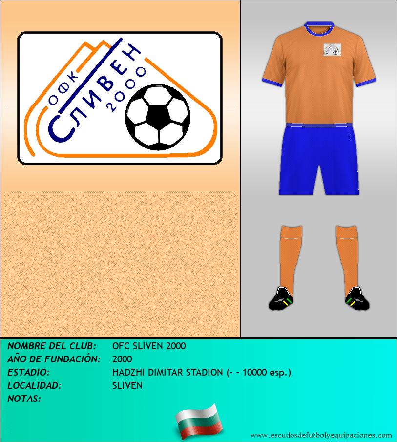 Escudo de OFC SLIVEN 2000