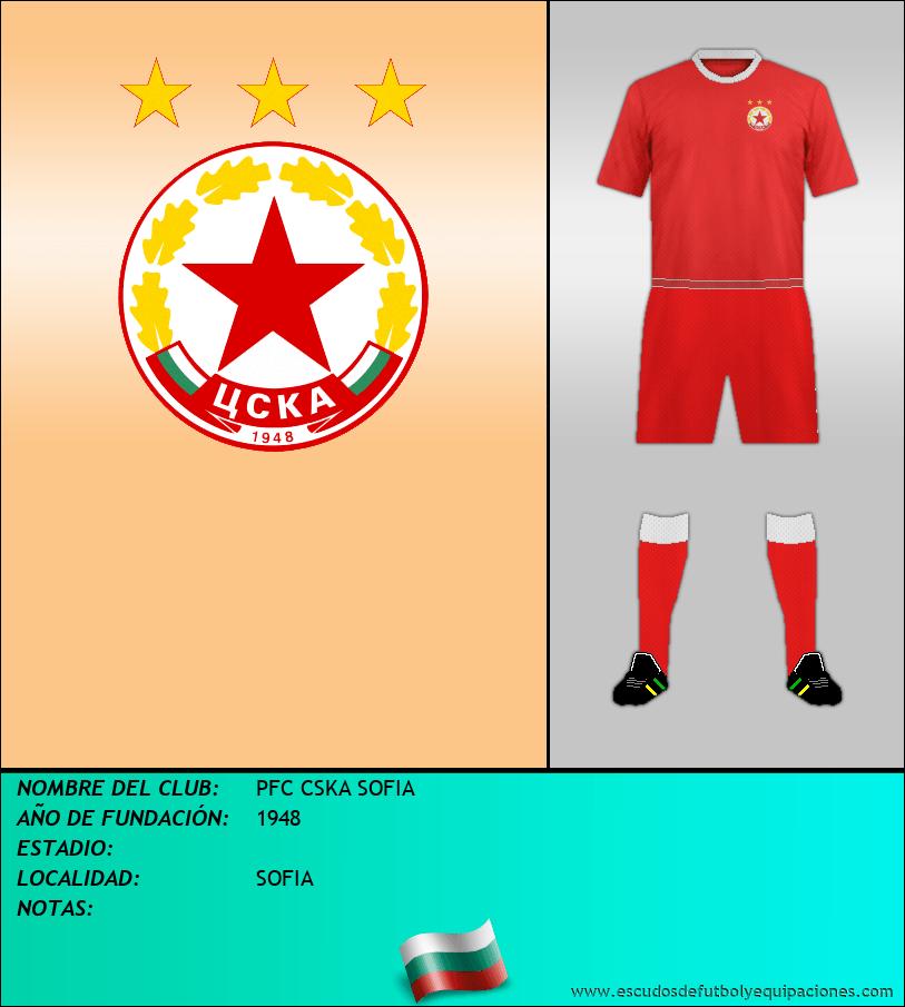 Escudo de PFC CSKA SOFIA
