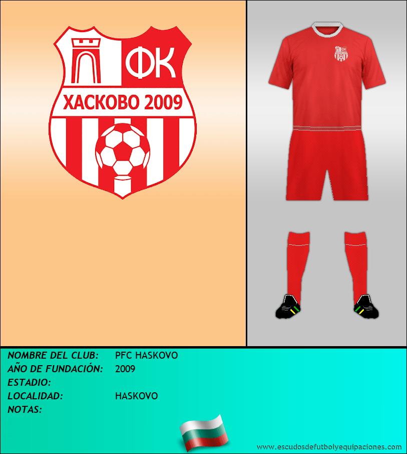 Escudo de PFC HASKOVO