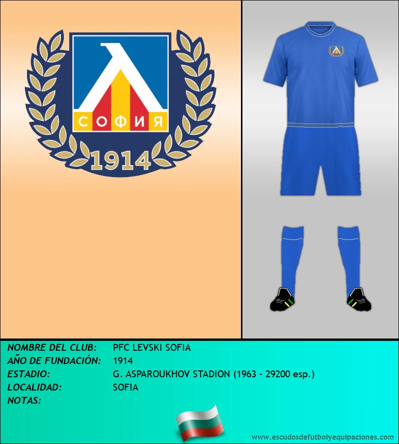 Escudo de PFC LEVSKI SOFIA