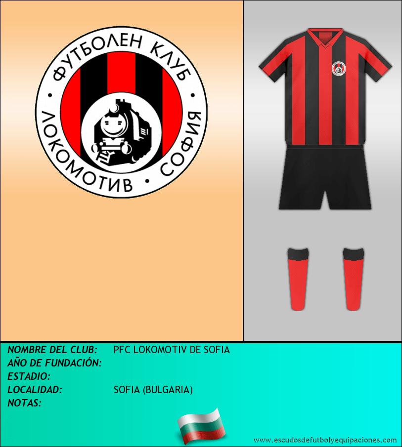 Escudo de PFC LOKOMOTIV DE SOFIA