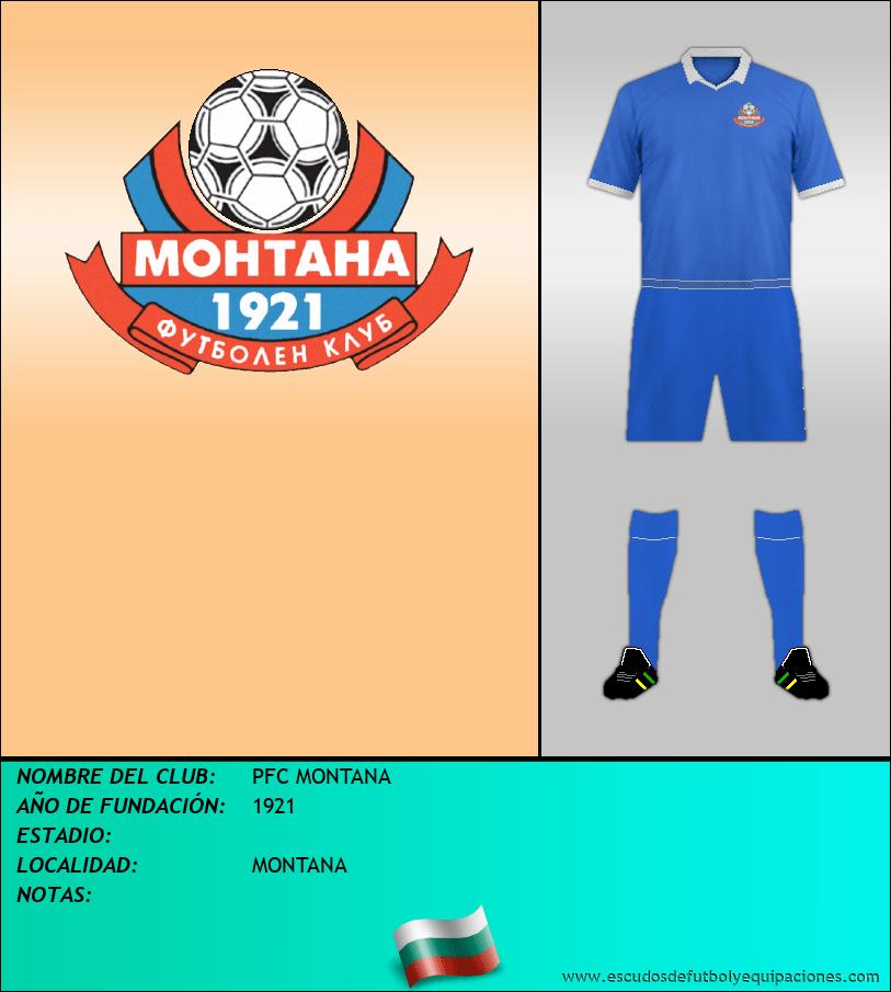 Escudo de PFC MONTANA