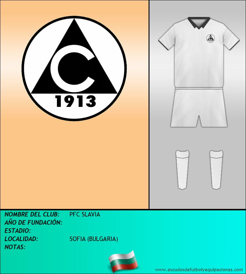 Escudo de PFC SLAVIA