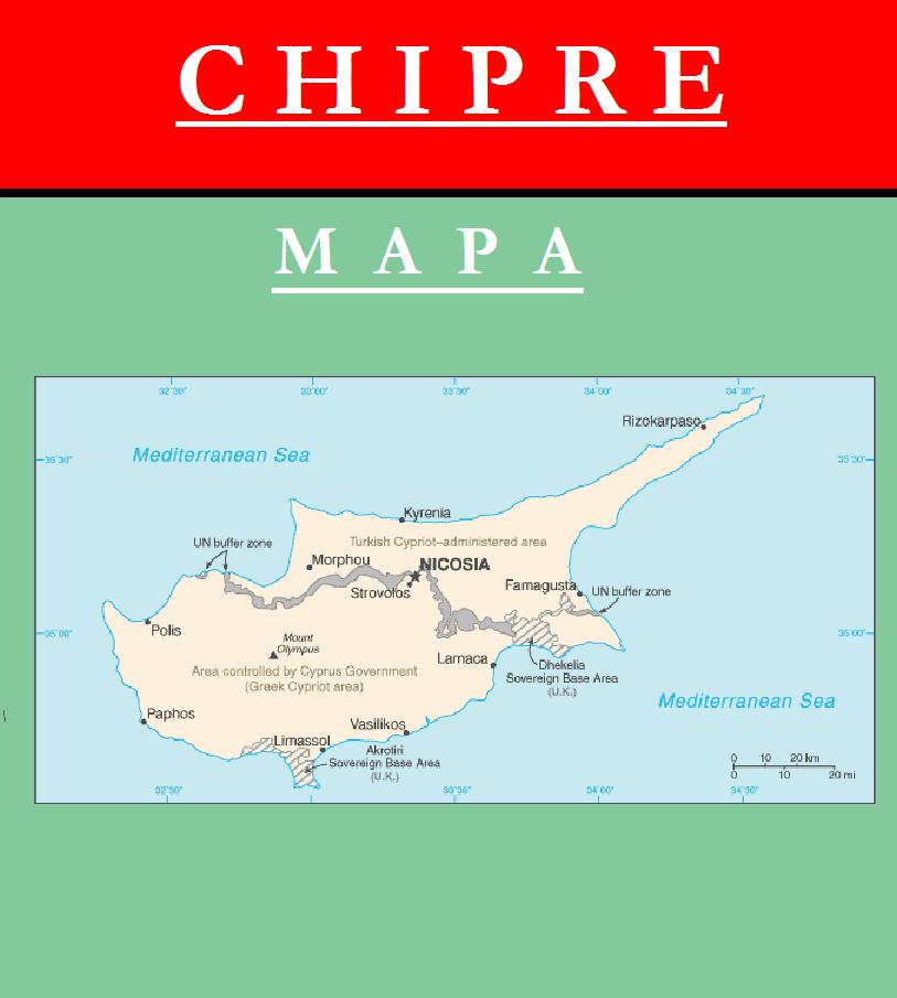 Escudo de MAPA DE CHIPRE