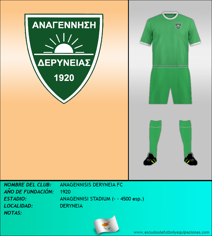 Escudo de ANAGENNISIS DERYNEIA FC
