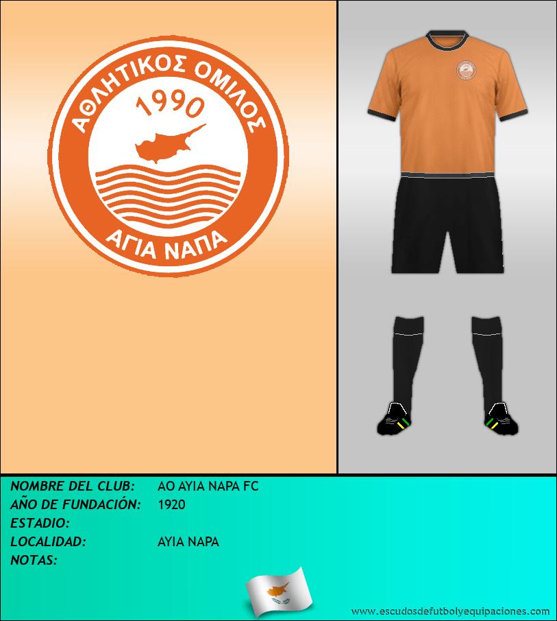 Escudo de AO AYIA NAPA FC