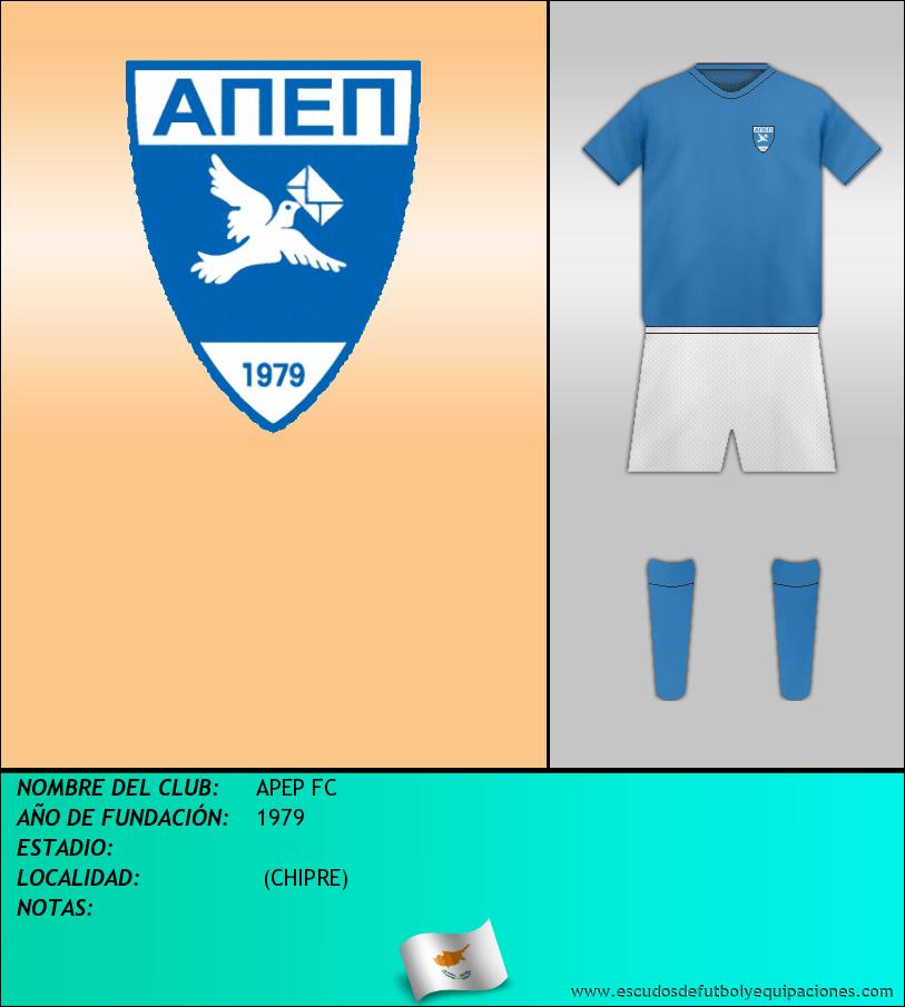 Escudo de APEP FC