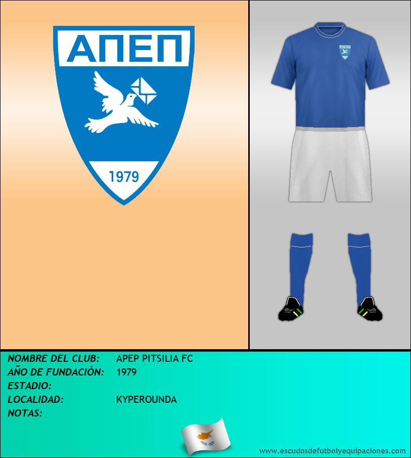 Escudo de APEP PITSILIA FC