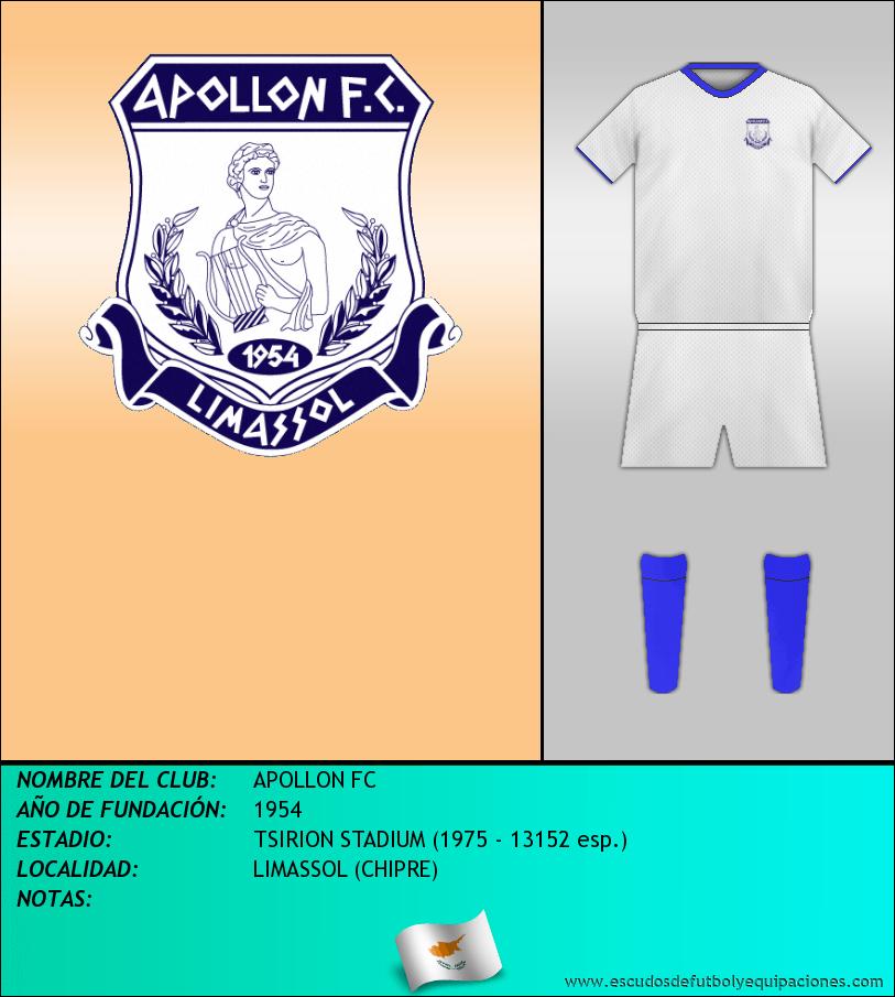 Escudo de APOLLON FC