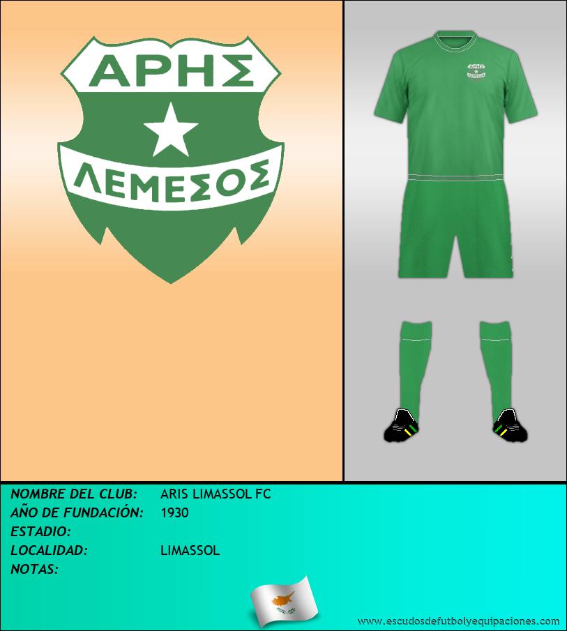 Escudo de ARIS LIMASSOL FC