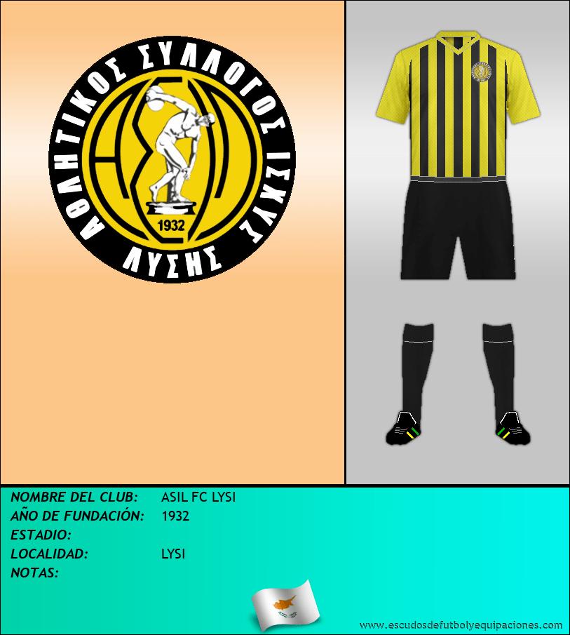 Escudo de ASIL FC LYSI