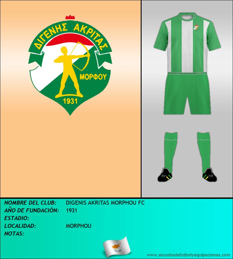 Escudo de DIGENIS AKRITAS MORPHOU FC