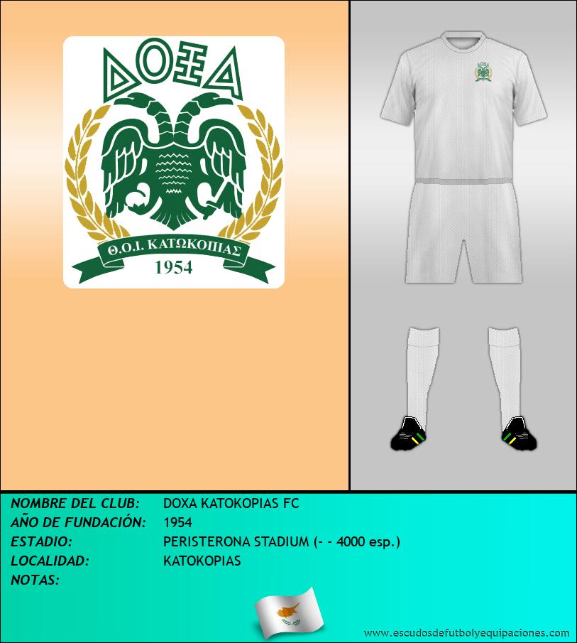 Escudo de DOXA KATOKOPIAS FC