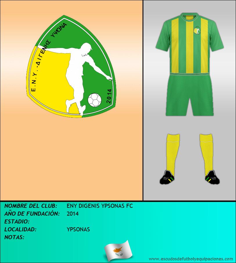 Escudo de ENY DIGENIS YPSONAS FC