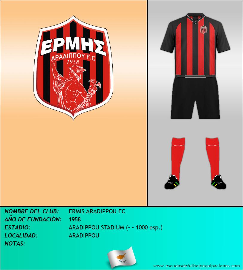 Escudo de ERMIS ARADIPPOU FC