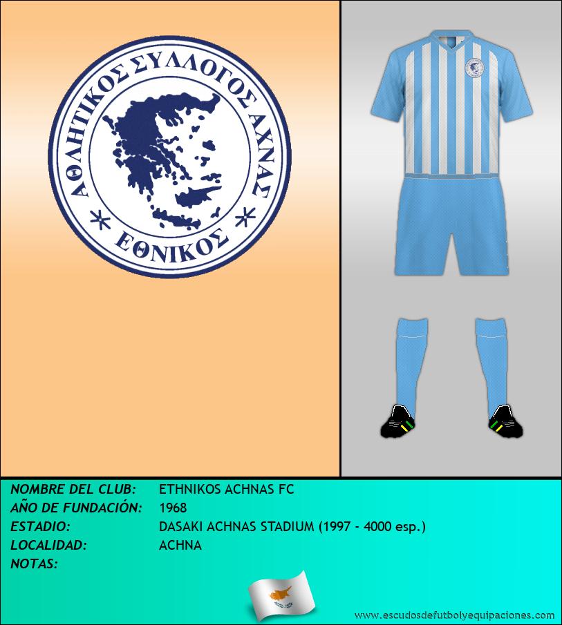 Escudo de ETHNIKOS ACHNAS FC