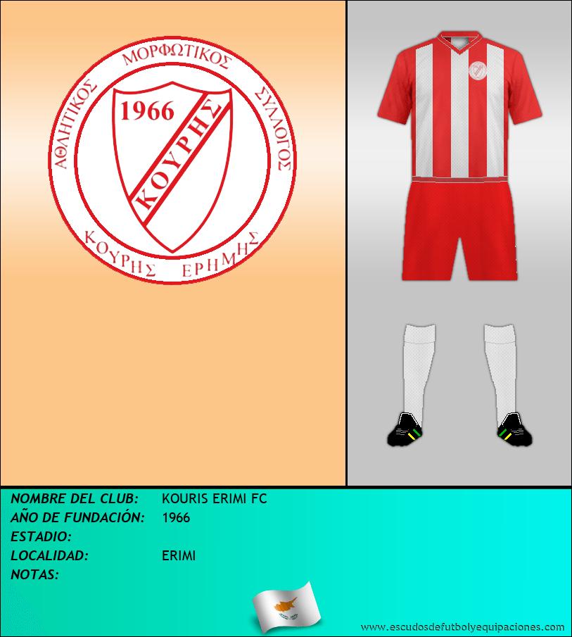 Escudo de KOURIS ERIMI FC