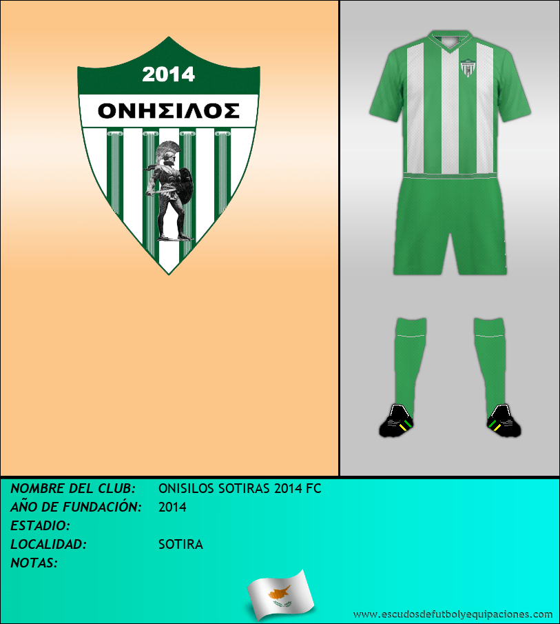 Escudo de ONISILOS SOTIRAS 2014 FC