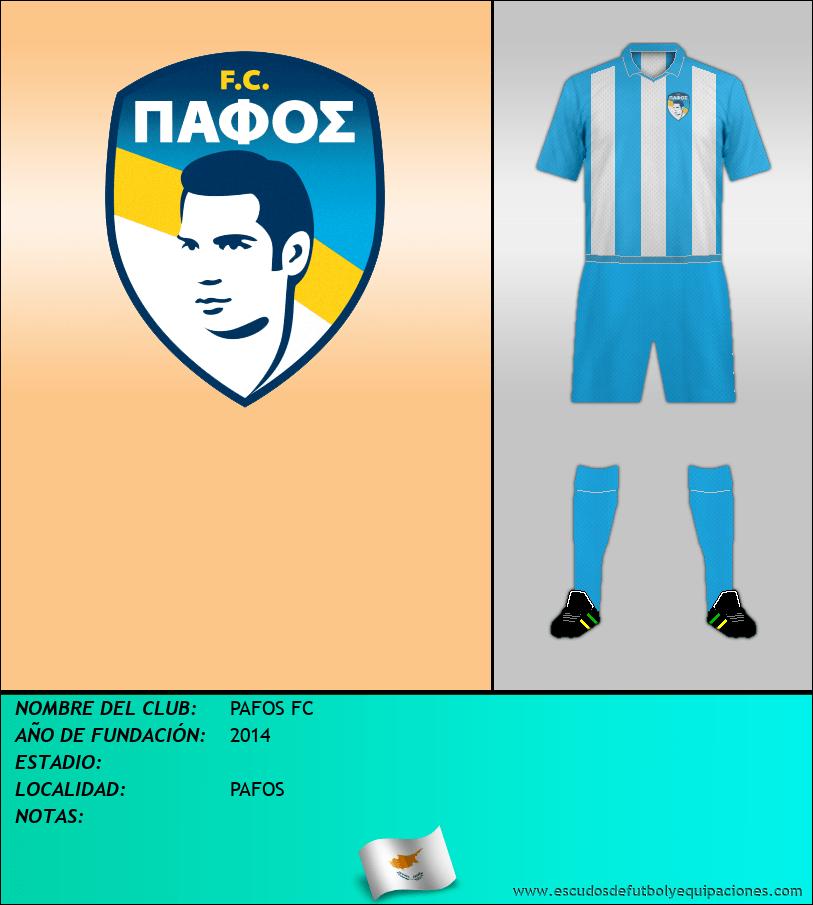 Escudo de PAFOS FC