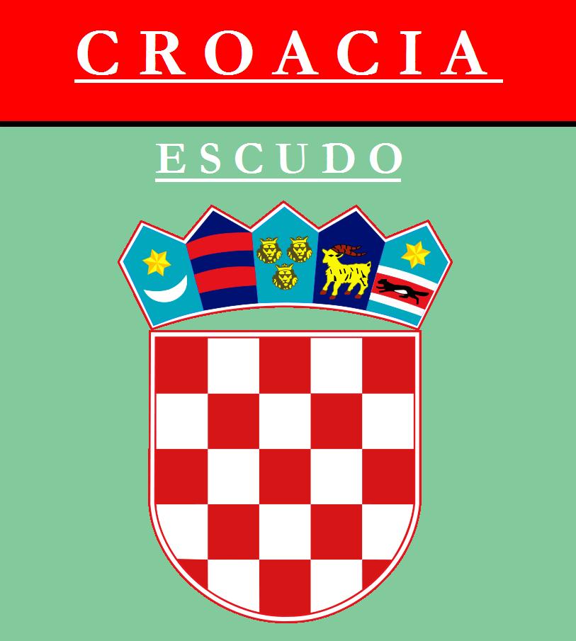 Escudo de ESCUDO DE CROACIA