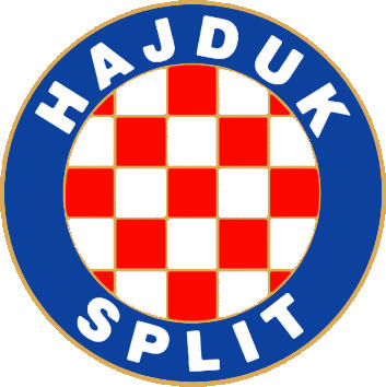 Escudo de HNK HAJDUK SPLIT (CROACIA)