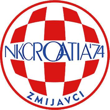 Escudo de NK CROATIA ZMIJVCI (CROACIA)