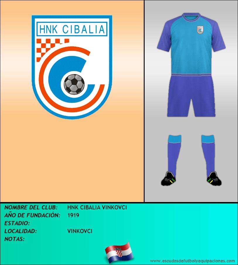 Escudo de HNK CIBALIA VINKOVCI