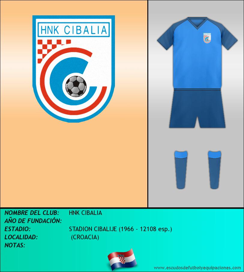 Escudo de HNK CIBALIA