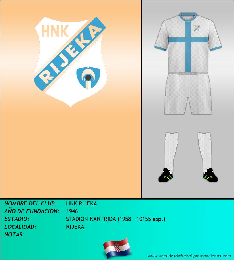 Escudo de HNK RIJEKA