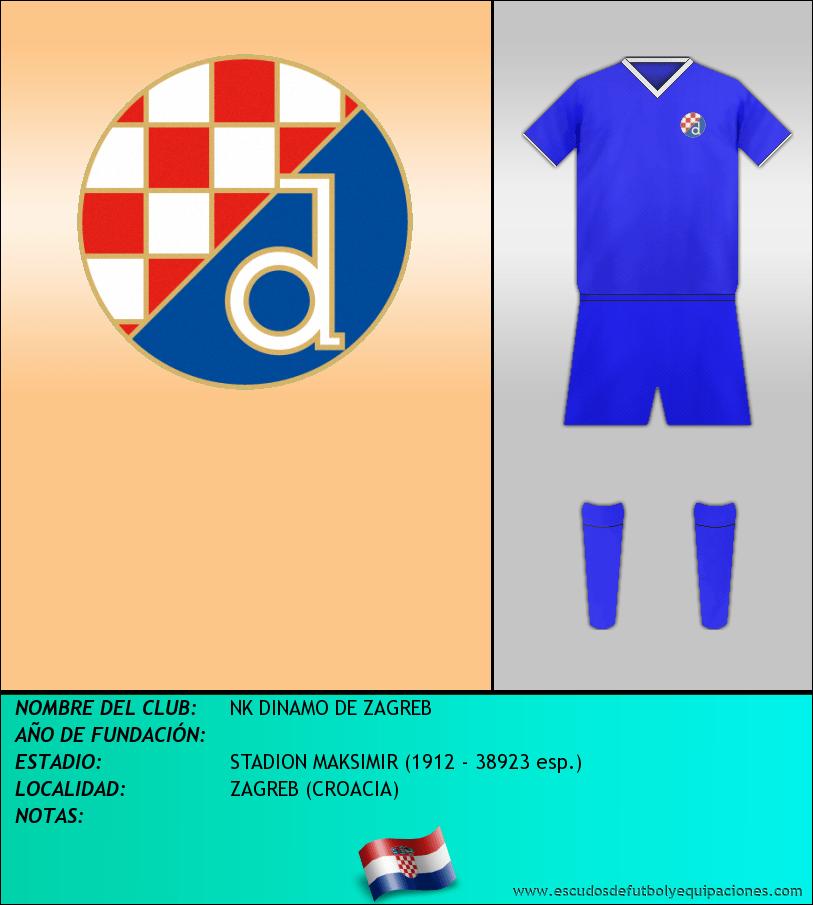 Escudo de NK DINAMO DE ZAGREB