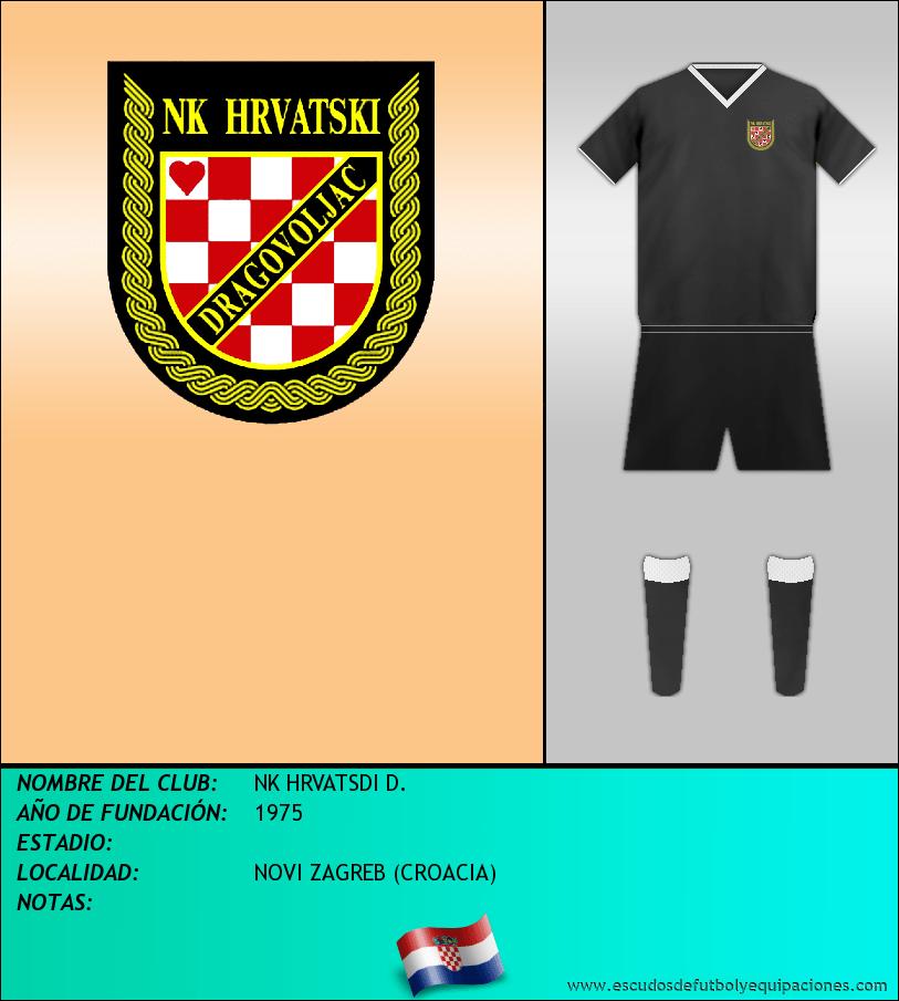 Escudo de NK HRVATSDI D.